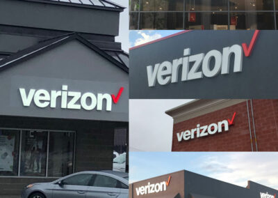 Standout Signage For Verizon Wireless